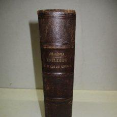 Libri antichi: ESTUDIOS CLÍNICOS DE CIRUJÍA. - MENDOZA, ANTONIO. 1850-52.. Lote 123217175