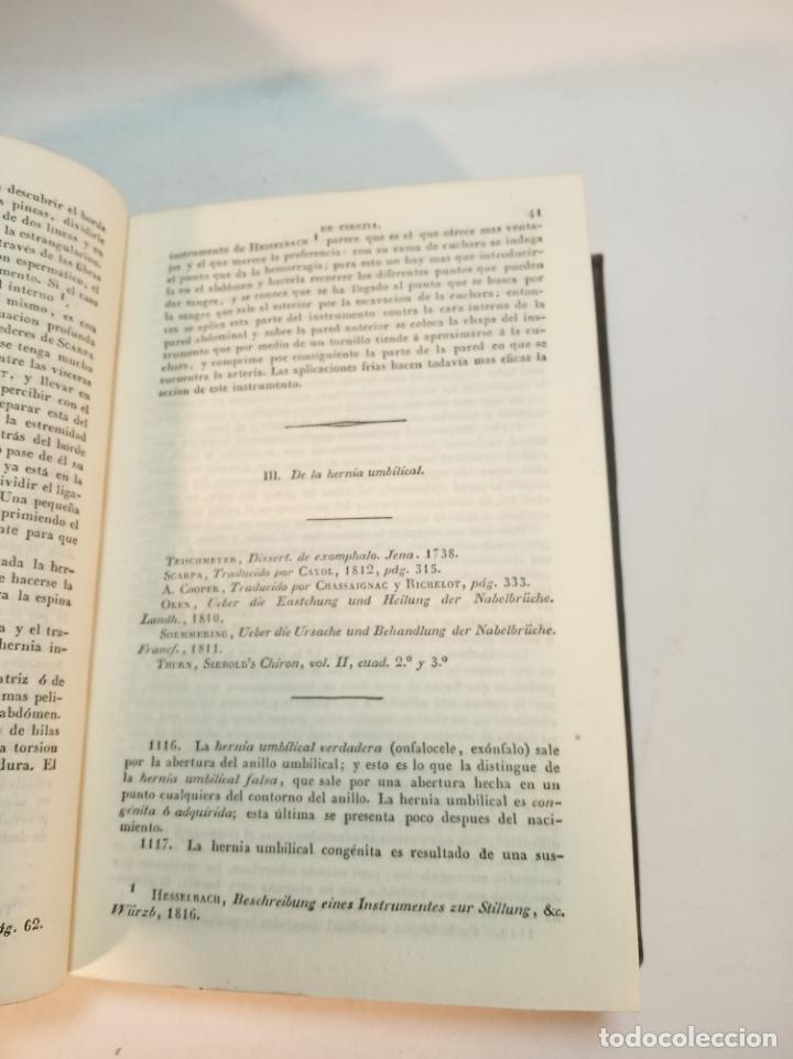 Libros antiguos: Tratado completo de Cirujía. M. J. Chelius. 3 Tomos. Librería Sres. Viuda de Calleja e hijos. 1843. - Foto 13 - 178326731