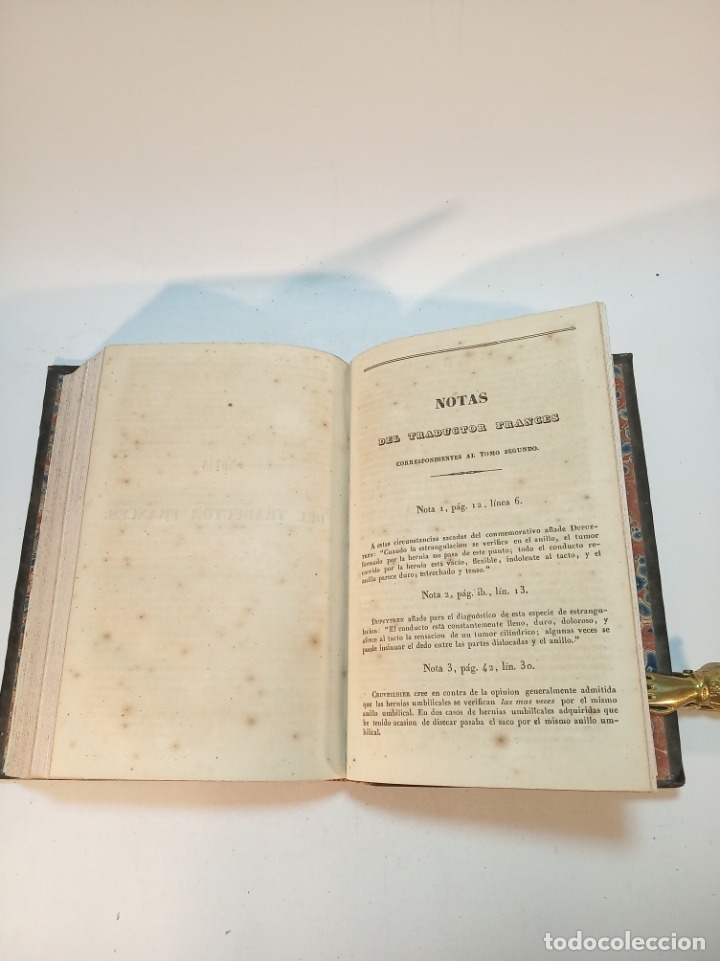 Libros antiguos: Tratado completo de Cirujía. M. J. Chelius. 3 Tomos. Librería Sres. Viuda de Calleja e hijos. 1843. - Foto 15 - 178326731