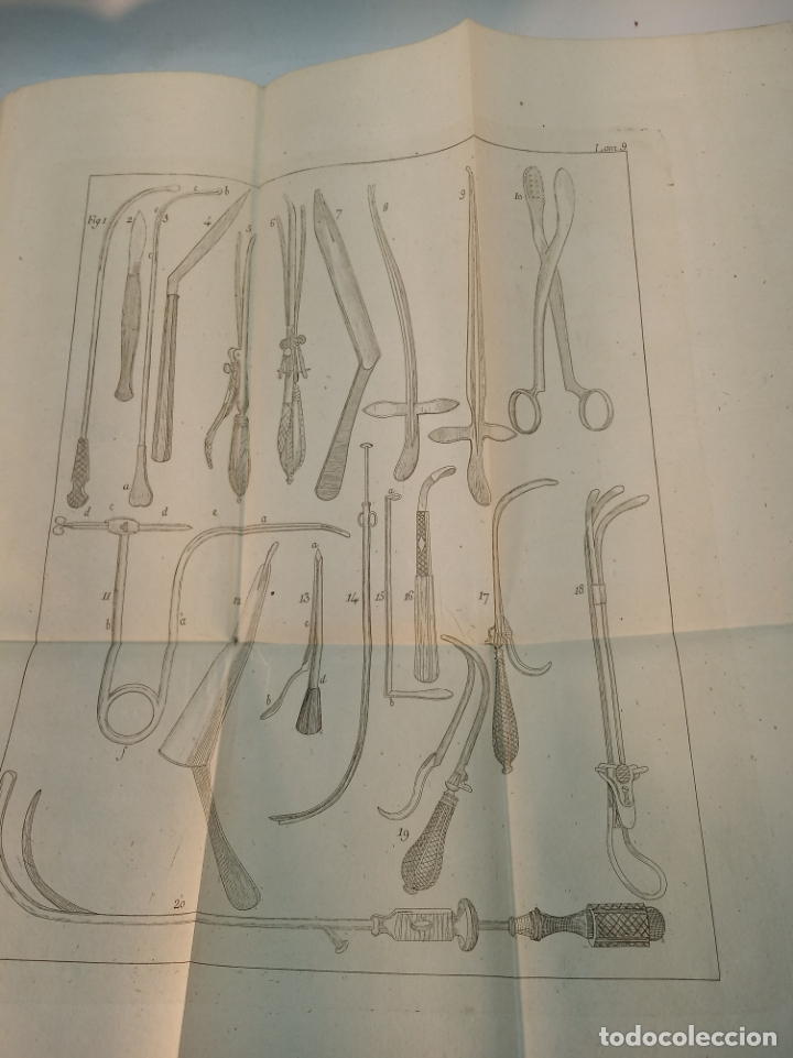Libros antiguos: Tratado completo de Cirujía. M. J. Chelius. 3 Tomos. Librería Sres. Viuda de Calleja e hijos. 1843. - Foto 30 - 178326731