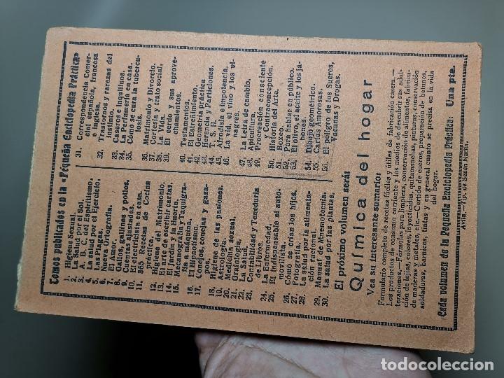 Libros antiguos: EL PELIGRO DE LOS SUEROS, VACUNAS Y DROGAS (DR. E. ALFONSO) PEQUEÑA ENCICLOPEDIA PRACTICA Nº 56 - Foto 6 - 178820706