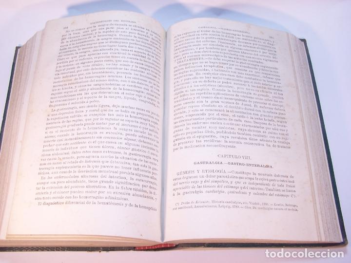 Libros antiguos: Tratado de patología interna. S. Jaccoud. D. Joaquín Gassó. 3 tomos. Carlos Bailly-Bailliere. 1881. - Foto 12 - 178986296