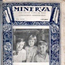 Libros antiguos: JOSEP ROIG I RAVENTÓS : NOCIONS DE PUERICULTURA (MINERVA, 1926) - EN CATALÁN. Lote 179024005
