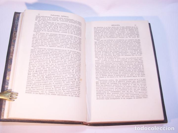 Libros antiguos: Tratado elemental de patología general y semeyología. A. Hardy y J. Behier. 2 tomos. Madrid. 1846. - Foto 4 - 179031797