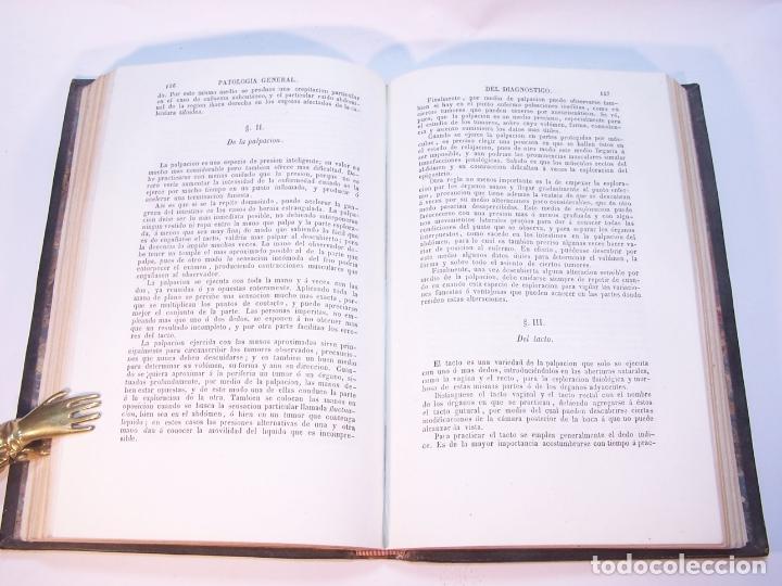 Libros antiguos: Tratado elemental de patología general y semeyología. A. Hardy y J. Behier. 2 tomos. Madrid. 1846. - Foto 5 - 179031797