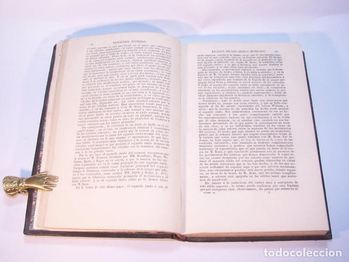 Libros antiguos: Tratado elemental de patología general y semeyología. A. Hardy y J. Behier. 2 tomos. Madrid. 1846. - Foto 10 - 179031797
