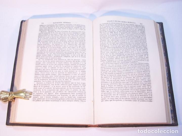 Libros antiguos: Tratado elemental de patología general y semeyología. A. Hardy y J. Behier. 2 tomos. Madrid. 1846. - Foto 11 - 179031797