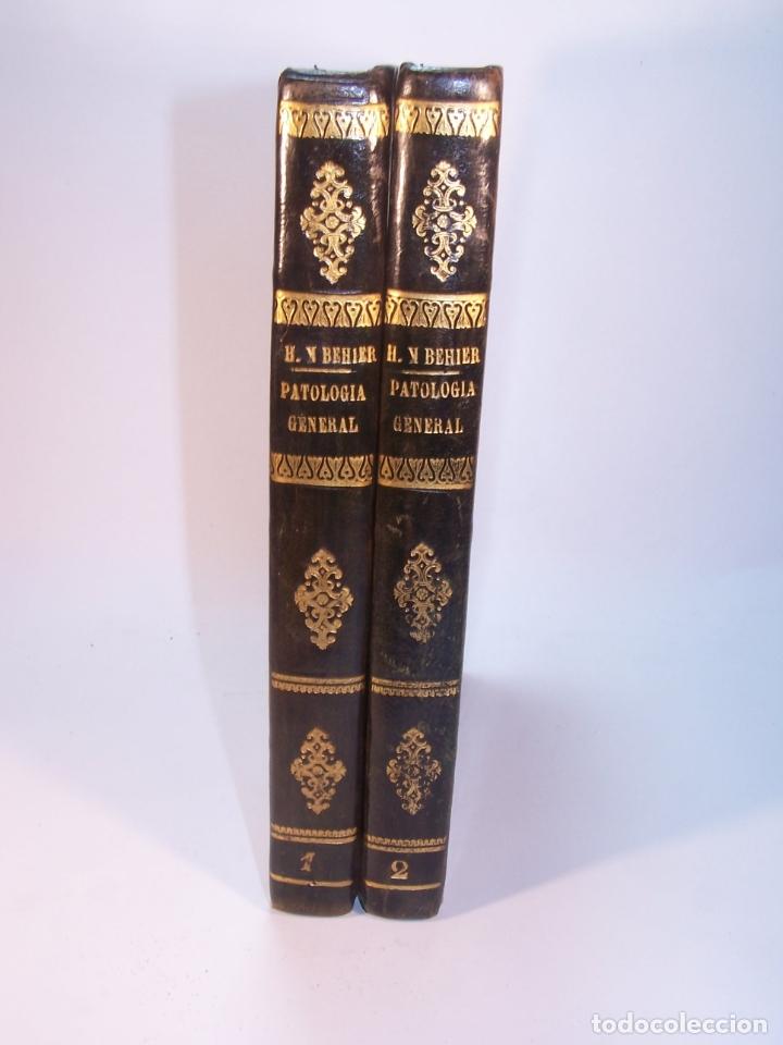 TRATADO ELEMENTAL DE PATOLOGÍA GENERAL Y SEMEYOLOGÍA. A. HARDY Y J. BEHIER. 2 TOMOS. MADRID. 1846. (Libros Antiguos, Raros y Curiosos - Ciencias, Manuales y Oficios - Medicina, Farmacia y Salud)