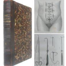 Libros antiguos: 1879 - GINECOLOGÍA, MEDICINA - ENFERMEDADES DE LA MUJER - LIBRO ANTIGUO ILUSTRADO - CIENCIAS . Lote 179159010