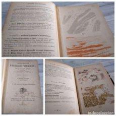 Libros antiguos: RARO: ATLAS MANUAL DE HISTOLOGÍA PATOLOGICA - H. DURCK (1903) - CON 120 LÁMINAS ILUSTRADAS. Lote 179326815
