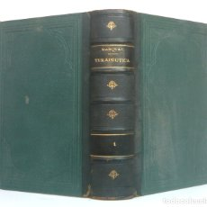 Libros antiguos: 1899 - MEDICINA Y FARMACIA - GRUESO LIBRO +1000 PÁGINAS - TERAPÉUTICA, MATERIA MÉDICA Y FARMACOLOGÍA. Lote 179326941