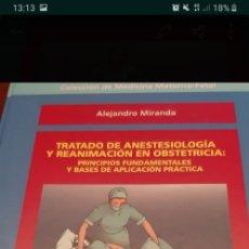 Libros antiguos: TRATADO DE ANESTESIOLOGIA Y REANIMACION EN OBSTETRICIA. Lote 179398523