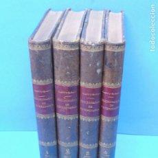 Libros antiguos: DICCIONARIO DE VETERINARIA ( 4 VOLUMENES ) COMPLETO.- P. CAGNY Y H.-J. GOBERT.. Lote 180228545