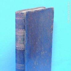 Libros antiguos: INSTITUCIONES DE ALBEITERÍA, Y EXÁMEN DE PRACTICANTES EN ELLA: DIVIDIDAS EN SEIS TRATADOS. F.GARCIA. Lote 180245080