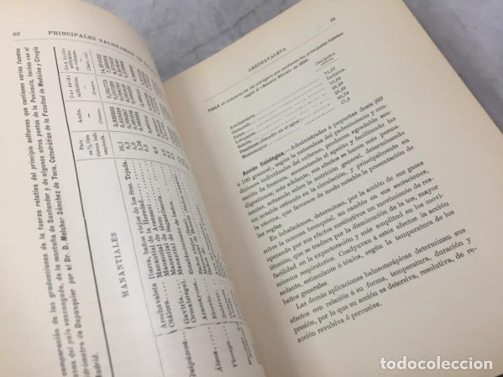 Libros antiguos: AGUAS MINERO MEDICINALES DE ESPAÑA (1903) PRINCIPALES BALNEARIOS DE ESPAÑA - Foto 5 - 180281525
