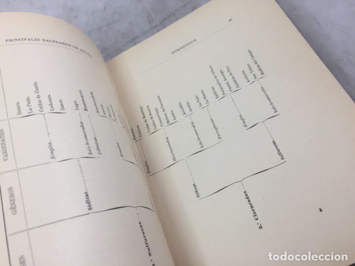 Libros antiguos: AGUAS MINERO MEDICINALES DE ESPAÑA (1903) PRINCIPALES BALNEARIOS DE ESPAÑA - Foto 6 - 180281525