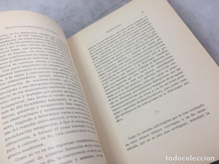 Libros antiguos: AGUAS MINERO MEDICINALES DE ESPAÑA (1903) PRINCIPALES BALNEARIOS DE ESPAÑA - Foto 7 - 180281525