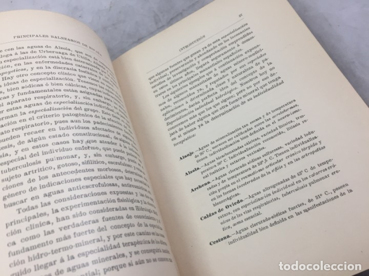Libros antiguos: AGUAS MINERO MEDICINALES DE ESPAÑA (1903) PRINCIPALES BALNEARIOS DE ESPAÑA - Foto 8 - 180281525