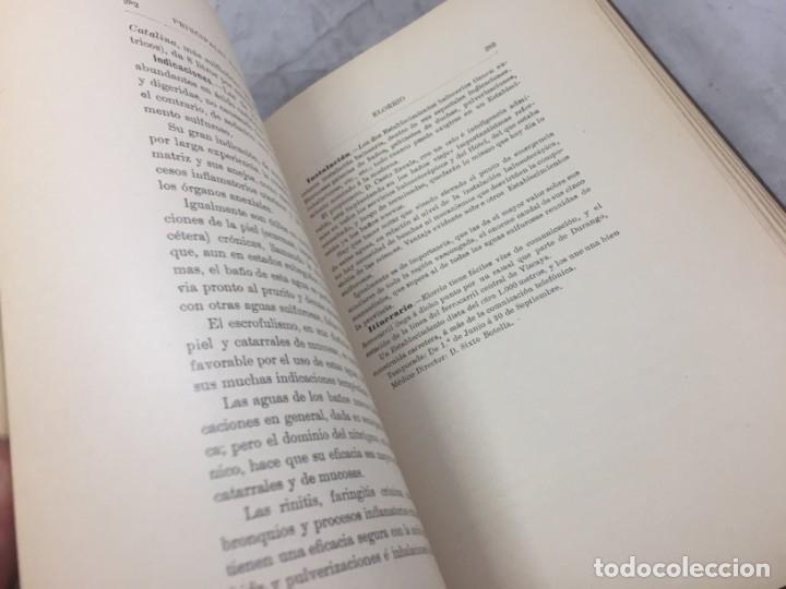 Libros antiguos: AGUAS MINERO MEDICINALES DE ESPAÑA (1903) PRINCIPALES BALNEARIOS DE ESPAÑA - Foto 9 - 180281525