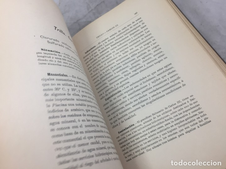 Libros antiguos: AGUAS MINERO MEDICINALES DE ESPAÑA (1903) PRINCIPALES BALNEARIOS DE ESPAÑA - Foto 11 - 180281525