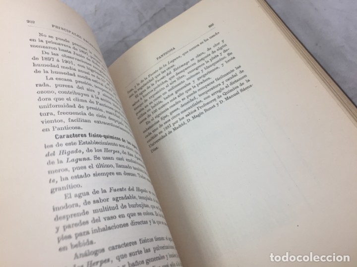 Libros antiguos: AGUAS MINERO MEDICINALES DE ESPAÑA (1903) PRINCIPALES BALNEARIOS DE ESPAÑA - Foto 13 - 180281525
