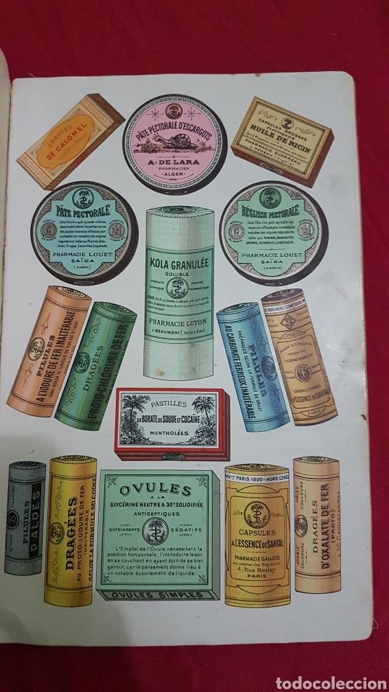 Libros antiguos: Magnifico antiguo libro de productos farmacia 1904 con láminas en Frances - Foto 3 - 180287415