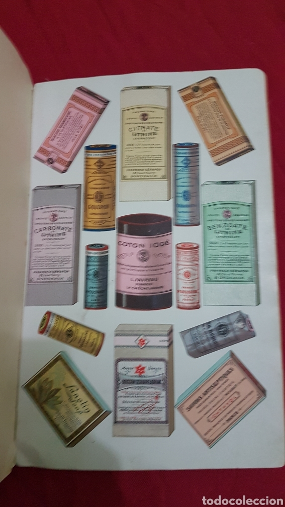 Libros antiguos: Magnifico antiguo libro de productos farmacia 1904 con láminas en Frances - Foto 4 - 180287415