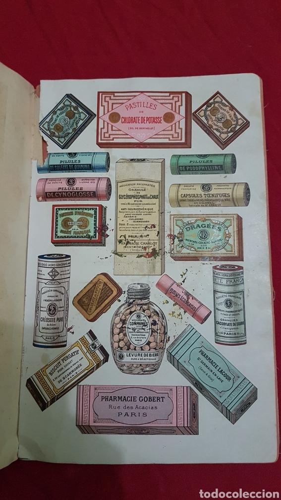 Libros antiguos: Magnifico antiguo libro de productos farmacia 1904 con láminas en Frances - Foto 5 - 180287415