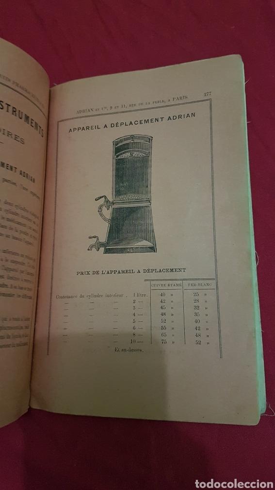 Libros antiguos: Magnifico antiguo libro de productos farmacia 1904 con láminas en Frances - Foto 6 - 180287415