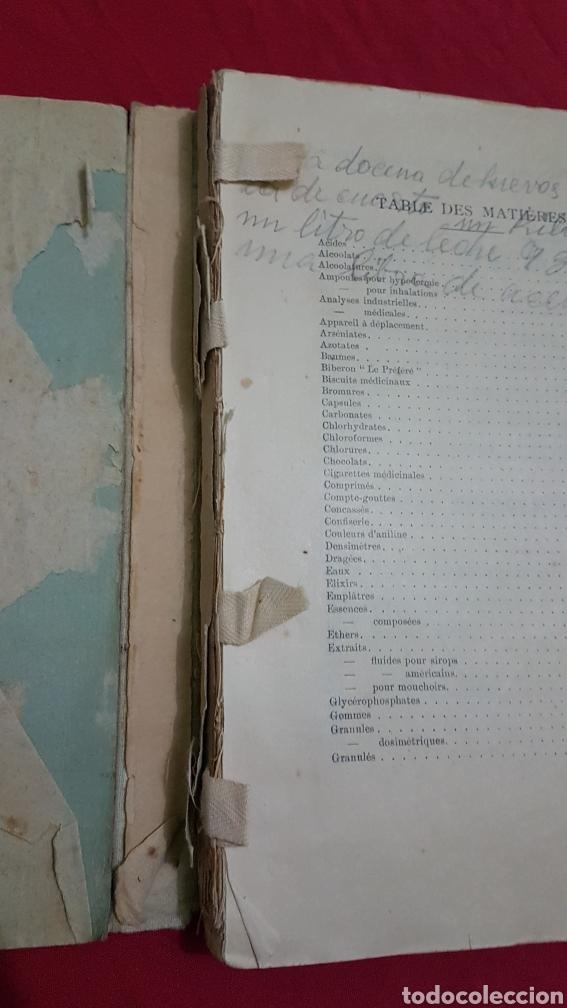 Libros antiguos: Magnifico antiguo libro de productos farmacia 1904 con láminas en Frances - Foto 8 - 180287415