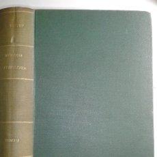 Libros antiguos: TRATADO DE ANATOMÍA HUMANA MIOLOGÍA ANGIOLOGÍA 1926 L. TESTUT 7ª EDICIÓN SALVAT. Lote 180918187