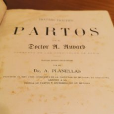Libros antiguos: TRATADO PRÁCTICO DE PARTOS. Lote 181346866