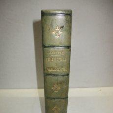 Libros antiguos: ELEMENTOS DE TERAPÉUTICA Y FARMACOLOGÍA. RABUTEAU, A. 1872.. Lote 181397242