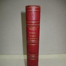 Libros antiguos: DEL CÓLERA EPIDÉMICO EN LOS NIÑOS. MONTI, A. (CUATRO OBRAS EN UN VOLUMEN). 1885.. Lote 181398316