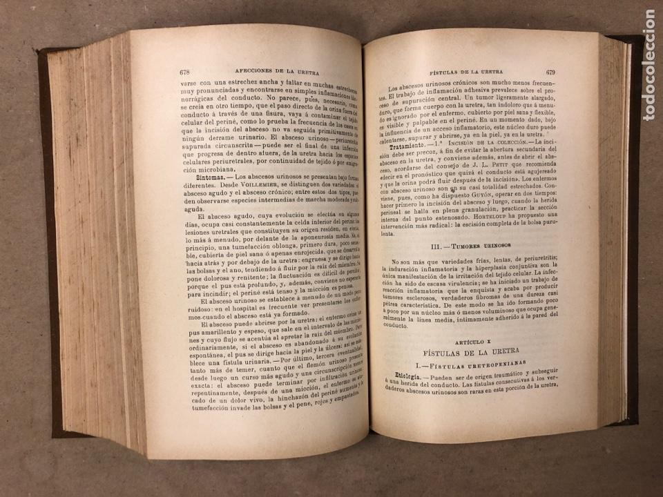Libros antiguos: MANUAL DE PATOLOGÍA EXTERNA POR E. FORGUE. TOMO II. JOSÉ ESPASA EDITOR. ILUSTRADO. - Foto 7 - 182235775