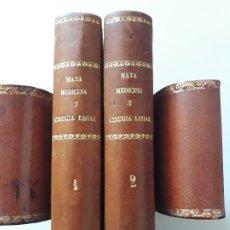 Libros antiguos: TRATADO DE MEDICINA Y CIRUGÍA LEGAL.TEORÍA Y PRÁCTICA. PEDRO MATA. CARLOS BAILLY-BAILLERE. 1857. Lote 182540720