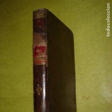 Libros antiguos: MANUAL DE LA SALUD Ó MEDICINA Y FARMACIA DOMÉSTICAS. RASPAIL. AÑO 1890. ILUSTRADO.. Lote 182667022