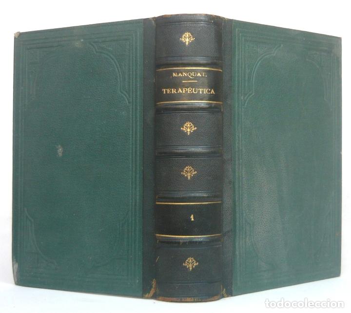 1899 - MEDICINA Y FARMACIA - GRUESO LIBRO +1000 PÁGINAS - TERAPÉUTICA, MATERIA MÉDICA Y FARMACOLOGÍA (Libros Antiguos, Raros y Curiosos - Ciencias, Manuales y Oficios - Medicina, Farmacia y Salud)