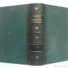 Libros antiguos: 1899 - MEDICINA Y FARMACIA - GRUESO LIBRO +1000 PÁGINAS - TERAPÉUTICA, MATERIA MÉDICA Y FARMACOLOGÍA. Lote 182954806