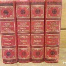 Libros antiguos: CONOCIMIENTOS PARA LA VIDA PRIVADA / 1ª Y 2ª SERIE / 4 TOMOS / SUAREZ CASAÑ, V.. Lote 183073662