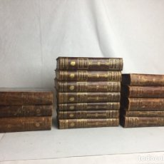 Libros antiguos: TRATADO DE MEDICINA INTERNA ( MOHR / STAEHELIN ) - 15 TOMOS, SATURMINO CALLEJA 1922. Lote 183266998