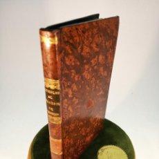 Libros antiguos: COMPENDIO AL TRATADO DE TERAPÉUTICA Y MATERIA MÉDICA. A. TROUSSEAU Y H. PIDOUX. MADRID. 1844.. Lote 183725877