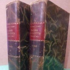 Libros antiguos: TRATADO DE MATERIA FARMACÉUTICA VEGETAL ( JUAN R GÓMEZ PAMO) 1906 2 TOMOS. Lote 183962281