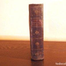 Libros antiguos: MANUSCRITO LECCIONES DE MATERIA FARMACÉUTICA 1835. Lote 184053997