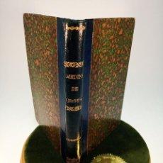 Libros antiguos: MEDICINA DE URGENCIA. D. ÁNGEL DE DIEGO HERNÁNDEZ. MADRID. I. DE LA VIUDA E HIJOS DE E. VAQUER. 1903. Lote 184086613