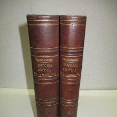 Libros antiguos: COMPENDIO DE HISTORIA CRÍTICA DE LA MEDICINA É INTRODUCCIÓN... RODRÍGUEZ Y FERNÁNDEZ, ILDEFONSO.. Lote 123239071