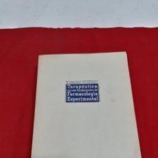 Libros antiguos: ANTIGUO LIBRO TERAPÉUTICA CON SUS FUNDAMENTOS DE FARMACOLOGÍA EXPERIMENTAL TOMO 2 QUINTA EDICIÓN. Lote 184140933