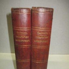 Libros antiguos: THÉRAPEUTIQUE HOMOEOPATHIQUE DES MALADIES AIGUES ET DES MALADIES CHRONIQUES. - HARTMANN, FR. 1847-50. Lote 123200002