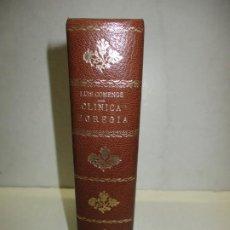 Libros antiguos: CLÍNICA EGREGIA. APUNTES HISTÓRICOS. - COMENGE, LUIS. 1895.. Lote 123177219