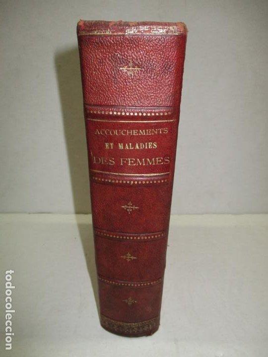 Libros antiguos: PRÉCIS ÉLÉMENTAIRE DE L'ART DES ACCOUCHEMENTS sous forme de demandes et réponses. - GIRARD, C. 1876. - Foto 2 - 123194836